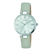 Pulsar Ladies 50M Water Resistant Watch – Grey Leather Strap / Silver Dial – PH8245X1