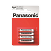 Panasonic Zinc Carbon General Household Batteries - Sizes AA/AAA/C/D Multipacks