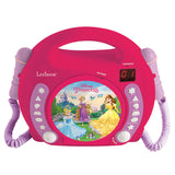 Lexibook Kids CD Player with 2 Toy Microphones - 4 Designs - RCDK100