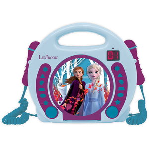 Lexibook Disney Frozen 2 II CD Player with Microphones Anna & Elsa - RCDK100FZ