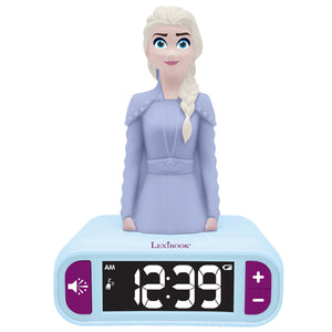 Lexibook Frozen 2 II Night Light Radio Alarm Clock – RL800FZ