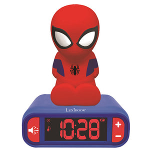 Lexibook Spider Man Night Light Radio Alarm Clock - RL800SP