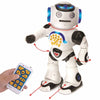 Lexibook Powerman Remote Control Walking Talking Toy Robot - Dances, Sings, Reads - ROB50EN
