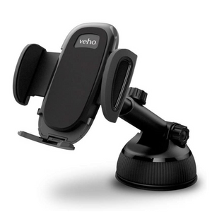 Veho TA-9 Universal In-Car Smartphone Holder Mount | Suction & Air Vent | 360° Rotation - VAA-015-TA9