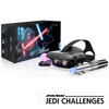 Lenovo Star Wars: Jedi Challenges AR Headset with Lightsaber Controller & Tracking Beacon - ZA390011GB