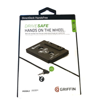 Griffin Hands-Free Directdeck Cassette Car Adapter with Microphone - GC22062