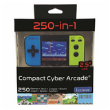 Lexibook Handheld Console Compact Cyber Arcade 250 Games – Black/Blue/Green – JL2377