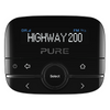 Pure Highway 200 In-Car DAB+/DAB Digital Radio | FM Adapter With Aux – Black – 150406