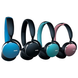 AKG Y500 Samsung Wireless On-Ear Headphones - Black, Blue, Green & Pink - AKGY500