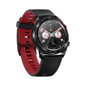 Honor Magic Smartwatch - Meteorite Black with Red Silicone Strap - 55023299