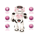 Lexibook Powergirl My First Educational Robot - Pink/White - ROB50GEN