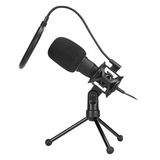 Marvo Scorpion Omnidirectional Streaming Microphone – Black – MIC-03