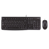 Logitech Desktop MK120 USB Keyboard and Mouse Set – Black – 920-002552