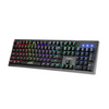 Marvo Scorpion KG909 RGB LED Full Size Mechanical Gaming Keyboard with Blue Switches – Black