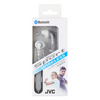 JVC Gumy Sports Wireless Bluetooth In Ear Headphones – White – HAEN10BTWE