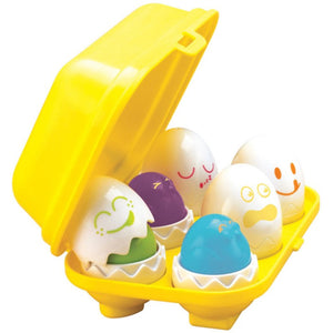 "Tomy Play to Learn Hide ""n"" Squeak Eggs Kids Toy - E1581"