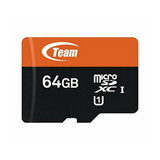 Team 64GB Micro SDXC Class 10 Flash Card with Adapter - TUSDX64GUHS03