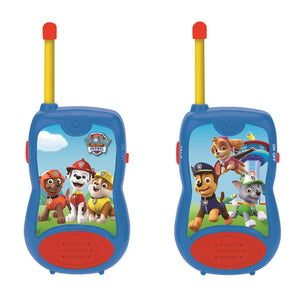 Lexibook Twin Pack Kids Walkie Talkies 100m - Paw Patrol - TW12PA