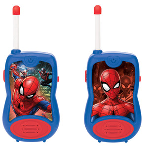 Lexibook Twin Pack Kids Walkie Talkies 100m - Spiderman - TW12SP