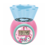 Lexibook Kids Toy Night Light Projector Clock with Timer - Frozen 2, Paw Patrol, Peppa Pig, Super Mario, Toy Story & Unicorn - RL97