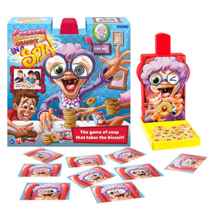 Tomy Greedy Granny in a Spin | Kids Toy Board Game - T73114