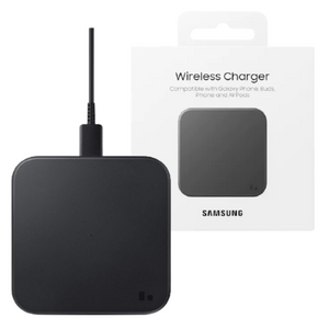 Samsung Wireless Charger Pad for Qi Enabled Devices | Fast Charge - Black - EP-P1300TBEGGB