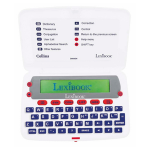Lexibook Collins English Electronic Dictionary with Thesaurus - D850EN