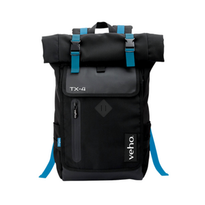 Veho TX-4 Bag Pack | Ruck Sack Notepad/Laptop Bag with USB Port - VNB-004-TX4