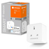 LEDVANCE Smart+ WiFi [UK] Switchable Plug | Voice Control | A++ Energy Class - White - LV566996