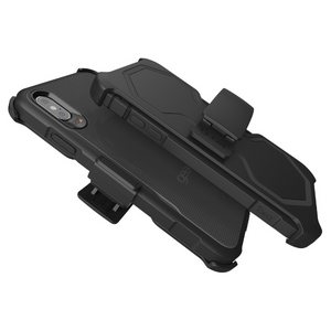 Gear4 Platoon Case with Holster & 20-Foot Drop Protection [D3O] for iPhone XS Max - Black