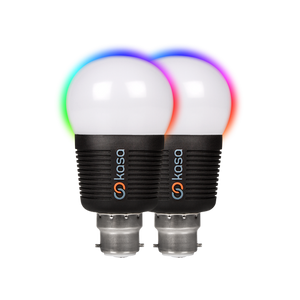 Veho Kasa Bluetooth Smart LED Light Bulb | Twin Pack - VKB-007-B22TP