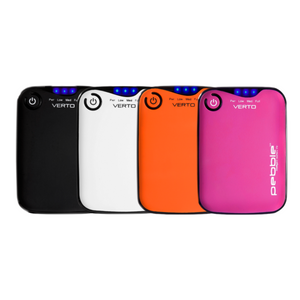 Veho Pebble Verto 3,700mAh Portable Power Bank | Travel Battery Pack - 4 Colours - VPP-201