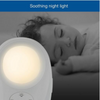VTech Audio Baby Monitor with Room Temp | Night Light | Lullabies - White - DM1211