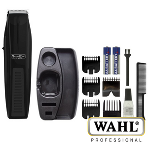Wahl GroomEase Performer Trimmer for Beard & Stubble with 5 Combs - 5537-6217
