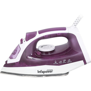 Infapower Steam Iron | 2400W - Purple - X603