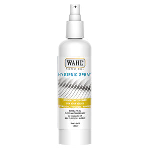 Wahl Hygienic Clipper Spray | Disinfectant Cleaning Spray for Wahl Clippers/Trimmers - 250ml - ZX495