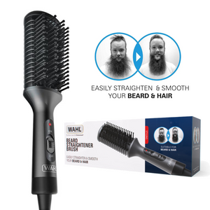 Wahl Electric Heated Beard Straightener Brush | Ceramic, Quick Heat - ZY086