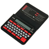 Franklin CWM109 Collins Crossword Solver with Calculator - Black/Red