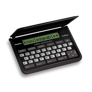 Franklin Collins Pocket Electronic Spell Checker Solver with Mind Games - SPQ109