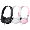 Sony MDR-ZX110 Overhead Noise Cancelling Headphones without Microphone - Black, White or Pink - MDRZX110