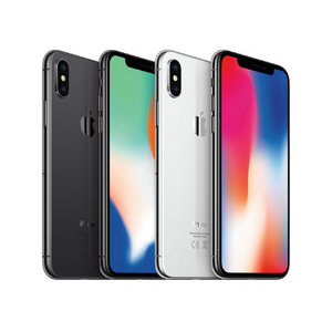 Apple iPhone X Sim-Free Unlocked Smartphone (Grade A-D)