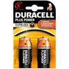 Duracell Plus Alkaline Batteries for General Household Use - Size AA/AAA/C/D/9v
