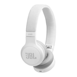 JBL Live 400BT Wireless Blutooth On-Ear Headphones | 24-Hours Run Time - White - JBLLIVE400BTWHT