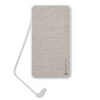 Mophie Powerstation Plus XL (10,000mAh) Power Bank with Internal Lightning Cable - Heather Grey - 401101658