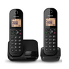 Panasonic KX-TGC412EB Digital Cordless Phone with Nuisance Call Blocker - Twin Handsets (Pack of 2)