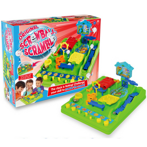 Tomy Original Screwball Scramble Game | Fun Family Childrens Activity Board Game | Age 5+ - T7070