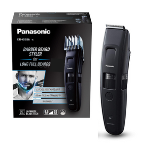 Panasonic ER-GB86 Wet & Dry Electric Beard Trimmer for Men with 58 Cutting Lengths - ERGB86