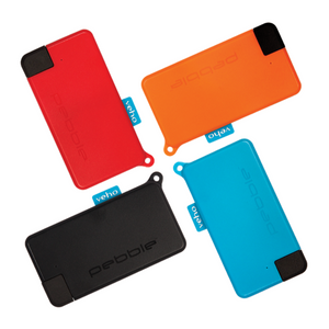 Veho Pebble Pokket Micro Sized Keyring Portable Power Bank | 900mAh - 4 Colours - VPP-113-PK