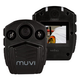 Veho Muvi HD Pro 2 Camcorder Handsfree | Body Worn | Video Camera | Surveillance Security Cam | 32GB Internal Memory | 1080p30 - Black - VCC-005-MUVI-HDPRO2