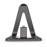 Veho DS-1 Android Charging Dock Station with Micro USB Port & 5ft Cable - Aluminium Grey - VPP-901-MSB